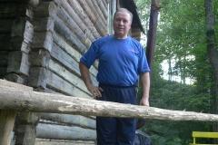 3. Mihail Jemeljanov ja itse rakennettu sauna